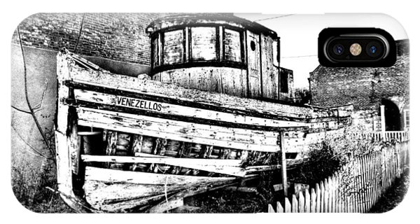Old Boat In Apalachicola IPhone Case