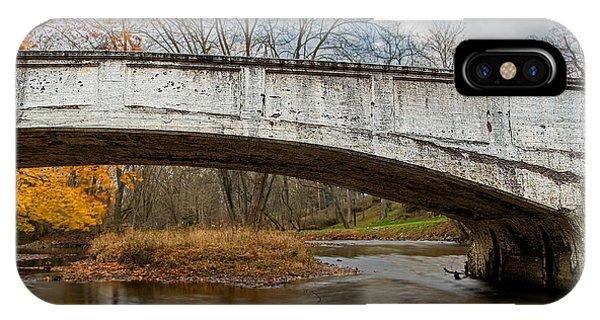 Old Bridge In Autumn IPhone Case