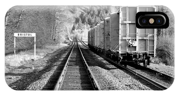 Old Bristol Rail In Ellensburg IPhone Case