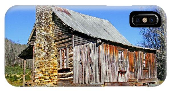 Old Cabin Along Macedonia Church Road IPhone Case