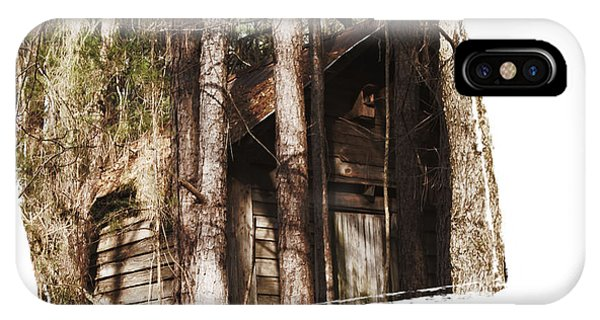 Old Cabin In Georga IPhone Case