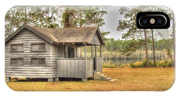 Old Cabin In Georgia IPhone Case