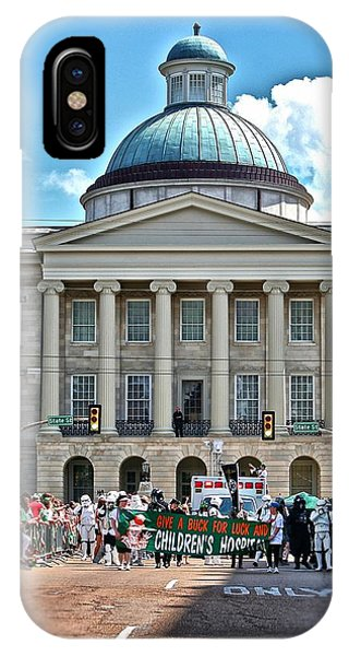 Old Capitol On Parade Day IPhone Case