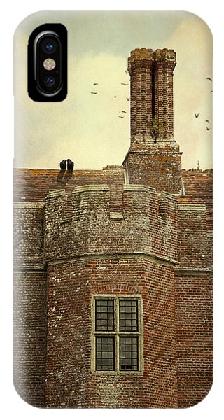 Old Castle Rooftop England IPhone Case