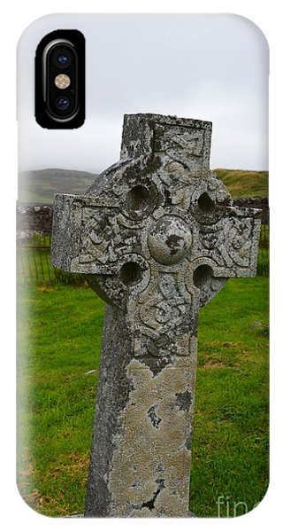 Old Cemetery Stones In Scotland IPhone Case
