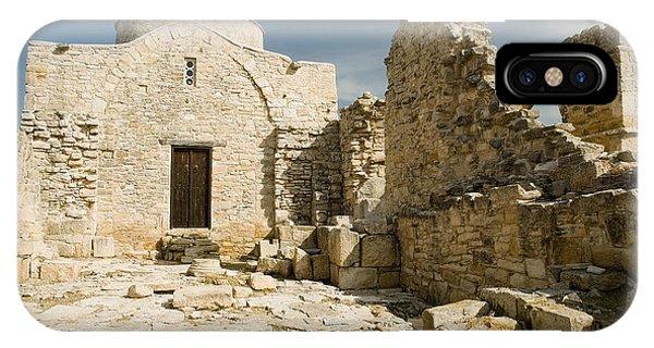 Old Church Anogyra  IPhone Case