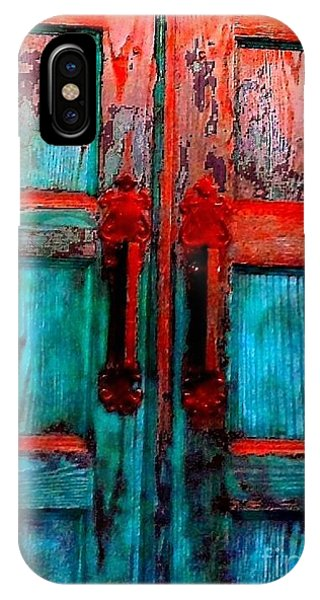 Old Church Door Handles 2 IPhone Case