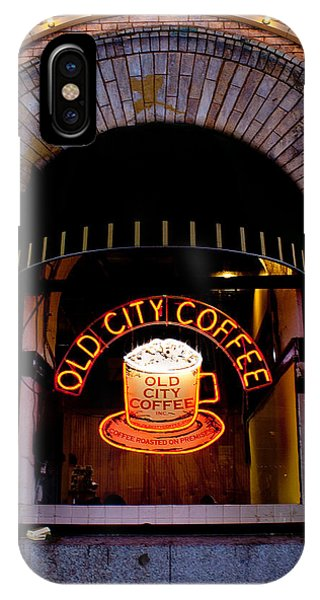 Old City Coffee IPhone Case
