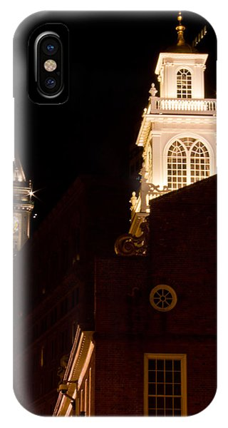 Bean Town iPhone Case - Old City Hall And Custom House Tower by John McGraw