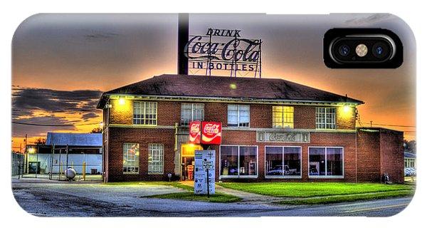 Old Coca Cola Bottling Plant IPhone Case