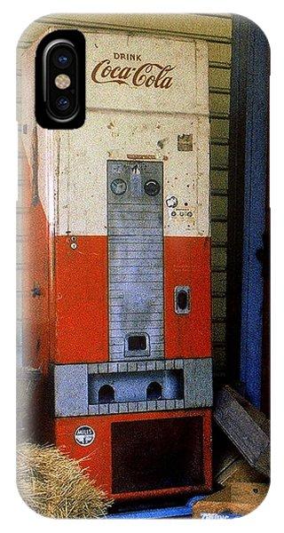 Old Coke Machine IPhone Case