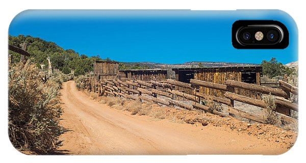Old Corral Phone Case by Phil Abrams