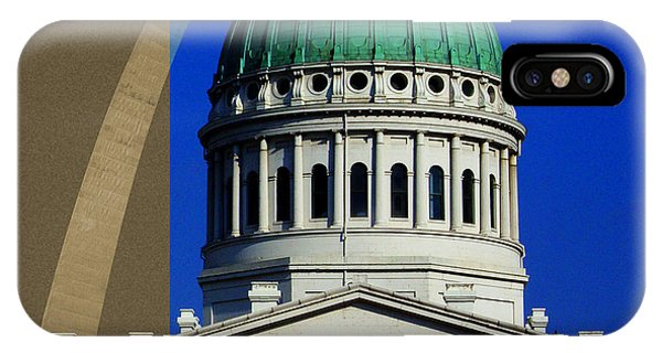 Old Courthouse Dome Arch IPhone Case