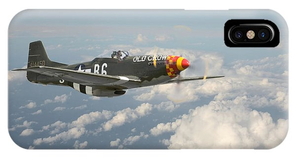 P51 Mustang - 'old Crow' IPhone Case