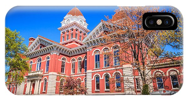 Old Crown Point Courthouse IPhone Case