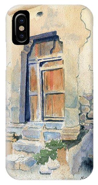 Peru iPhone Case - Old Door In Cuzco Peru by Marsha Elliott
