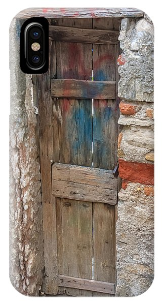 IPhone Case featuring the photograph Old Door by Susan Leonard