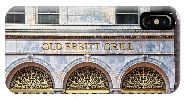 Old Ebbitt Grill IPhone Case