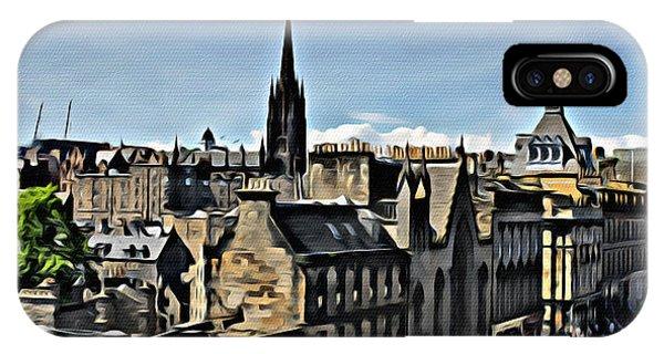 Olde Edinburgh IPhone Case
