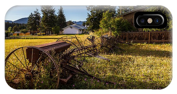 Old Farm Equipment Ronald Wa IPhone Case