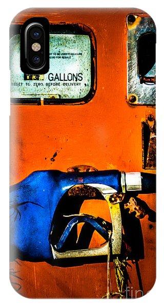 Old Farm Gas Pump IPhone Case