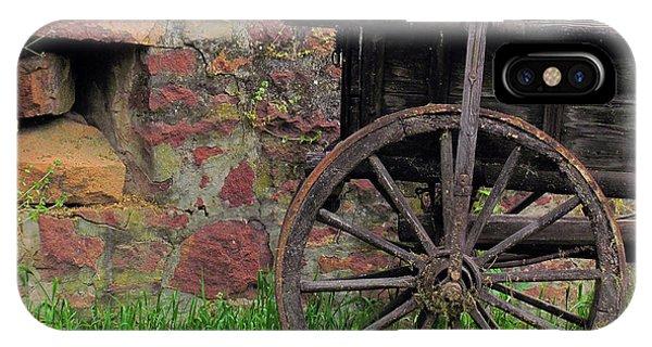 Old Farm Wagon IPhone Case
