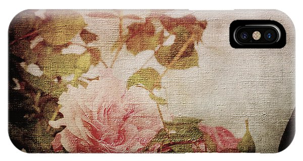 Old Fashion Rose IPhone Case