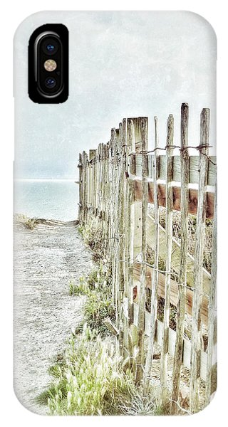 Old Fence To The Sea  IPhone Case