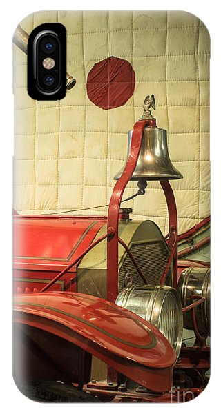 Old Fire Truck Engine Safety Net IPhone Case