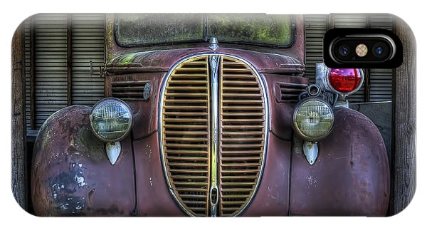 Old Ford Firetruck 2 IPhone Case