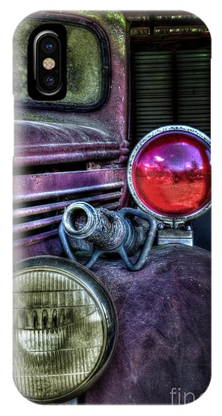 Old Ford Firetruck IPhone Case