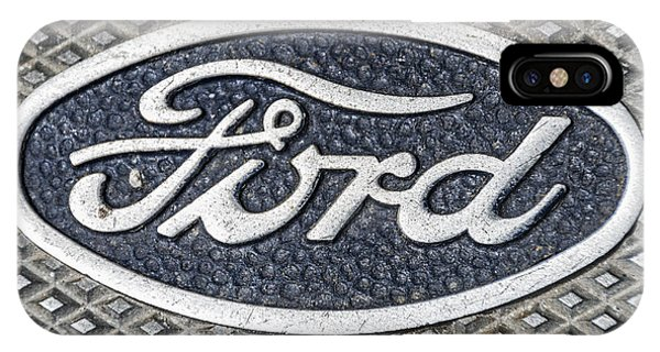 Old Ford Symbol IPhone Case