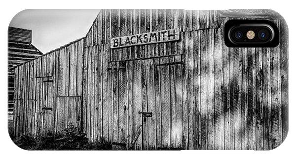 Old Fort Wayne Blacksmith Shop Phone Case by Gene Sherrill