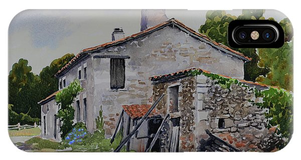iPhone Case - Old French Farmhouse by Anthony Forster