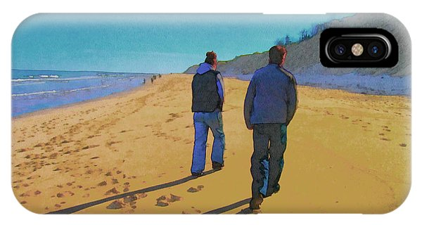 Old Friends Long Shadows IPhone Case
