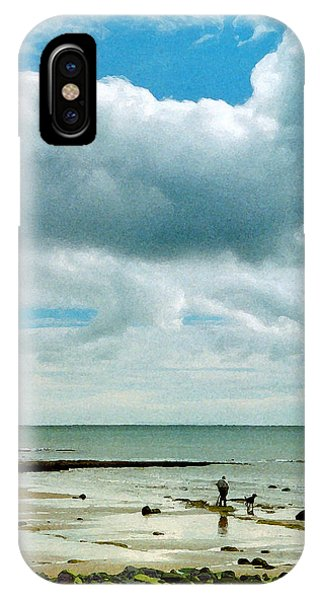 Old Friends Share A Beach IPhone Case