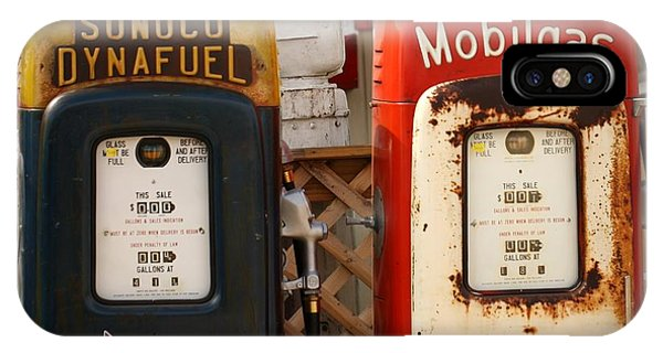 Old Fuel Pumps IPhone Case