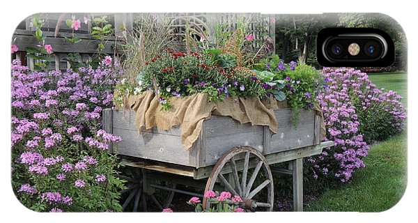 Old Garden Cart IPhone Case
