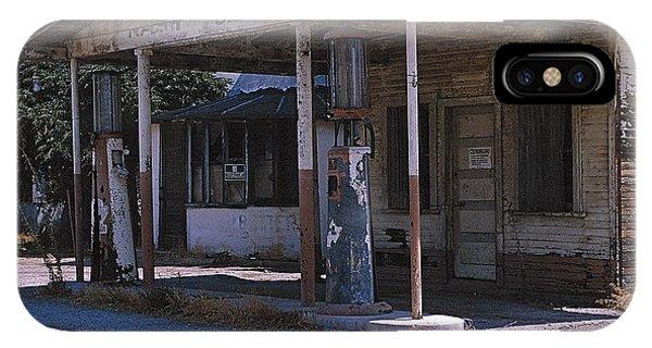 Old Gas Station Ventura Blvd Ca IPhone Case