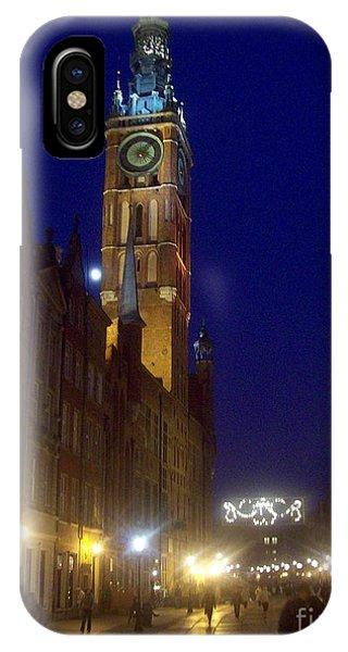 Old Gdansk November Nights IPhone Case