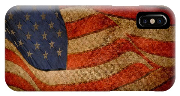 Old Glory Combat Flag IPhone Case