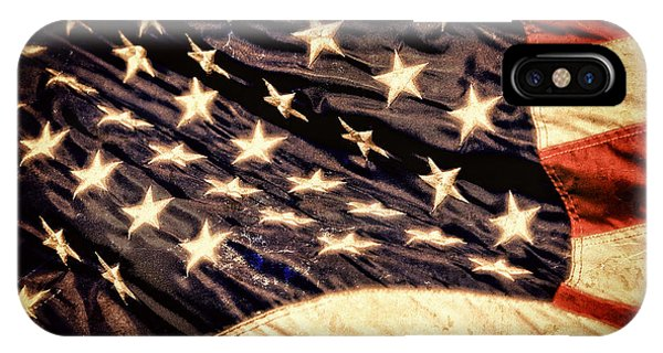 Old Glory Perseveres IPhone Case
