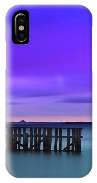 Old Granton Pier IPhone Case