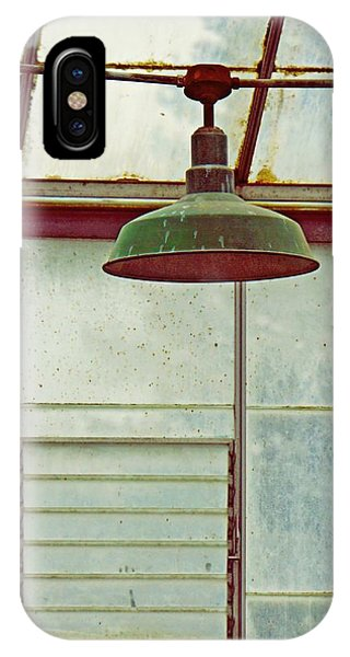 Old Green Lamp IPhone Case