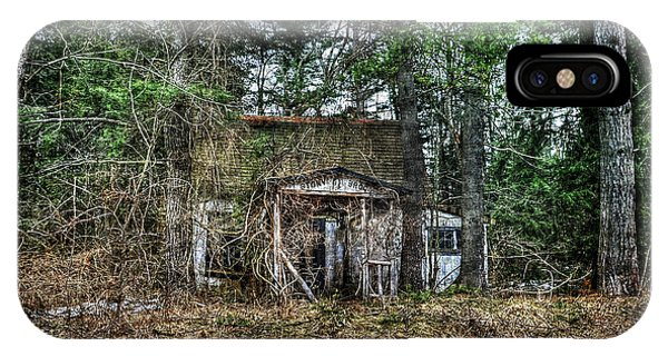 Old House With Overgrown Brush Phone Case by Dan Friend