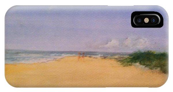 Old Hunstanton Beach IPhone Case