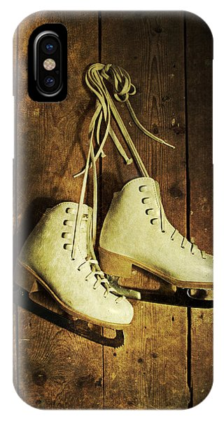 Old Ice Skates IPhone Case