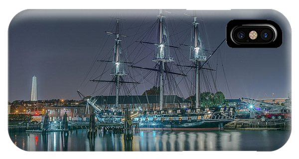 Old Iron Sides IPhone Case