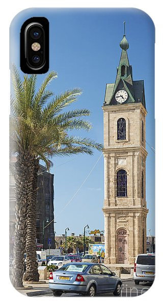 Old Jaffa Clocktower In Tel Aviv Israel IPhone Case