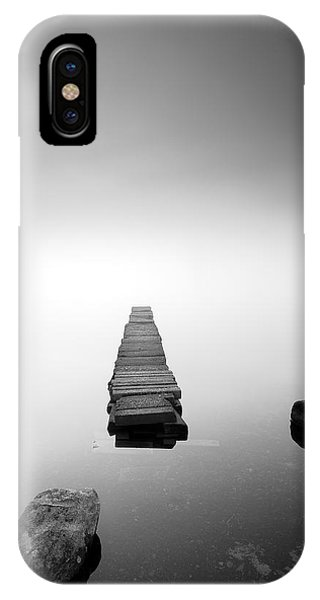 Old Jetty In The Mist IPhone Case